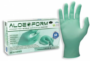 AloeForm® Nitrile Powder-Free Exam Gloves