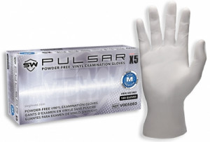 Pulsar® X5 Vinyl Powder-Free Exam Gloves