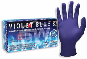 Violent Blue™ S5 Nitrile Powder-Free Gloves