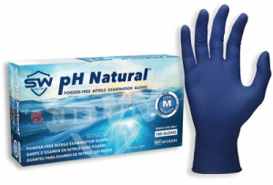 pH Natural® Nitrile Powder-Free Exam Gloves