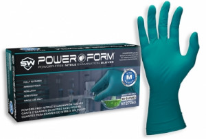 PowerForm® Nitrile Powder-Free Exam Gloves