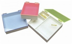 Pipet Box with Neon Acrylic Lid