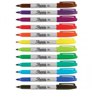 Dual-Tip and Standard Fine Tip Sharpie® Pens